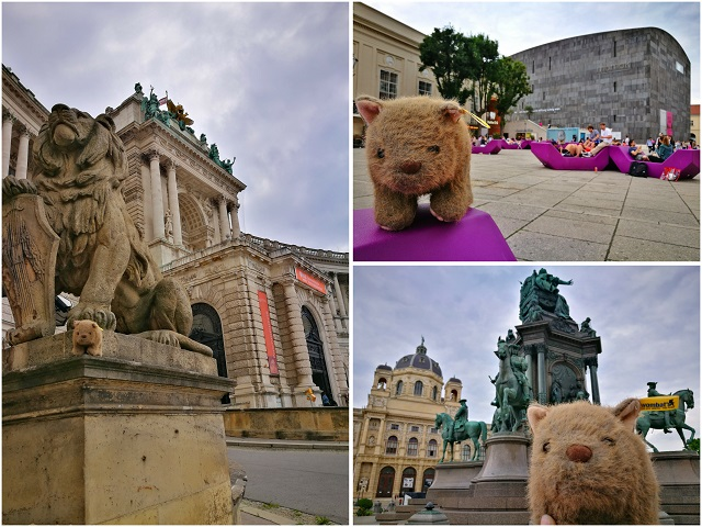 Where's Wagner Wombat? The Museums Quarter & Heroes' Square - Places to Visit in Vienna in 2 Days