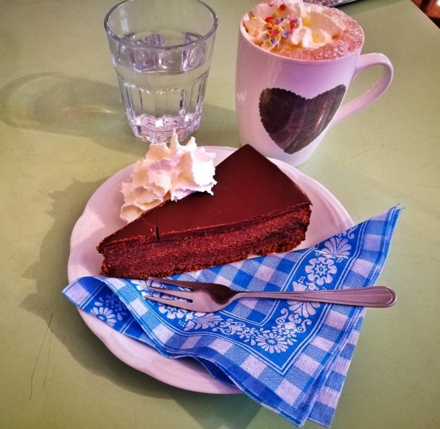 Sachertorte - What to eat in Vienna - must eat in Vienna