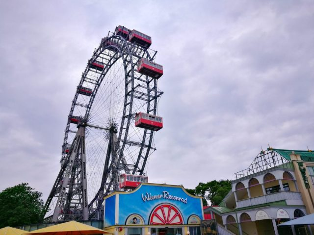 Where's Wagner Wombat - Prater. Places to visit in Vienna in 2 Days