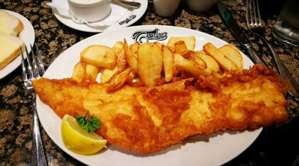 Fish & Chips on my Yorkshire Foodie Adventure