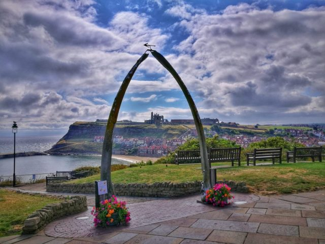 The Whalebone Arch in Whitby - The Riviera Guesthouse in Whitby Review