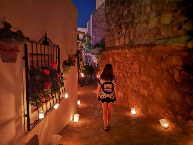 The Night of the Candles Festival in Mojacar