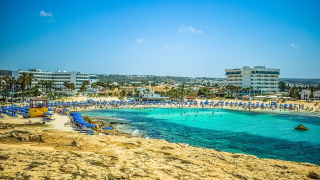 A beach in Cyprus - The Best Time to Visit Europe