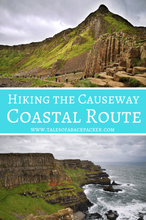 Hiking the Causeway Coastal Route is one of Northern Ireland's greatest adventures, and is even possible with a Giant's Causeway Tour from Belfast to #NorthernIreland #GiantsCauseway #UnitedKingdom #Hiking #UNESCO #Nature #Coast