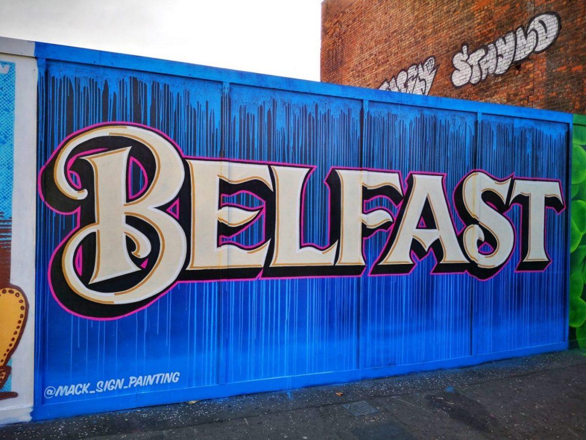 Belfast Street Art - Belfast!