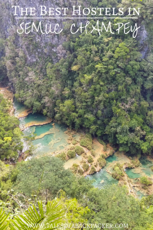 Looking for a hostel or hotel in Semuc Champey Guatemala? I've put together this list of the best hostels in Semuc Champey to help you decide where to stay. #Guatemala #Perhapsyouneedalittleguatemala #CentralAmerica #Travel #SemucChampey #Backpacking #Hostels