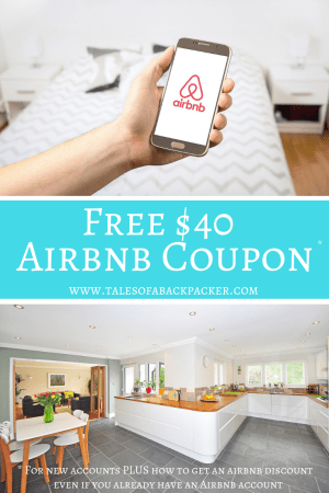 $40 Airbnb Coupon PLUS Airbnb tips and tricks to help you get an Airbnb discount. Get your Airbnb first time discount code here. AND how to get an Airbnb coupon that works even if you have an account already! #Airbnb #Discount #MoneySaving #Coupon #AirbnbCoupon #AirbnbDiscount #Travel #Budget #MoneySaving #TravelTips #Tips