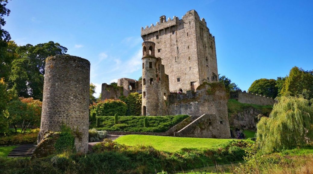 Blarney Castle and Tower from the Riverside - Blarney Castle Tour