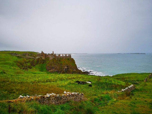 Dunluce Castle near Portrush - Things to do near Portrush Northern Ireland