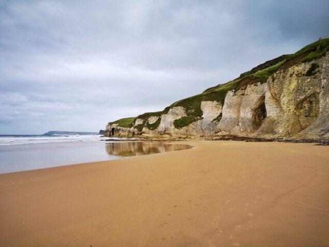Cliffs at White Rocks Beach Portrush