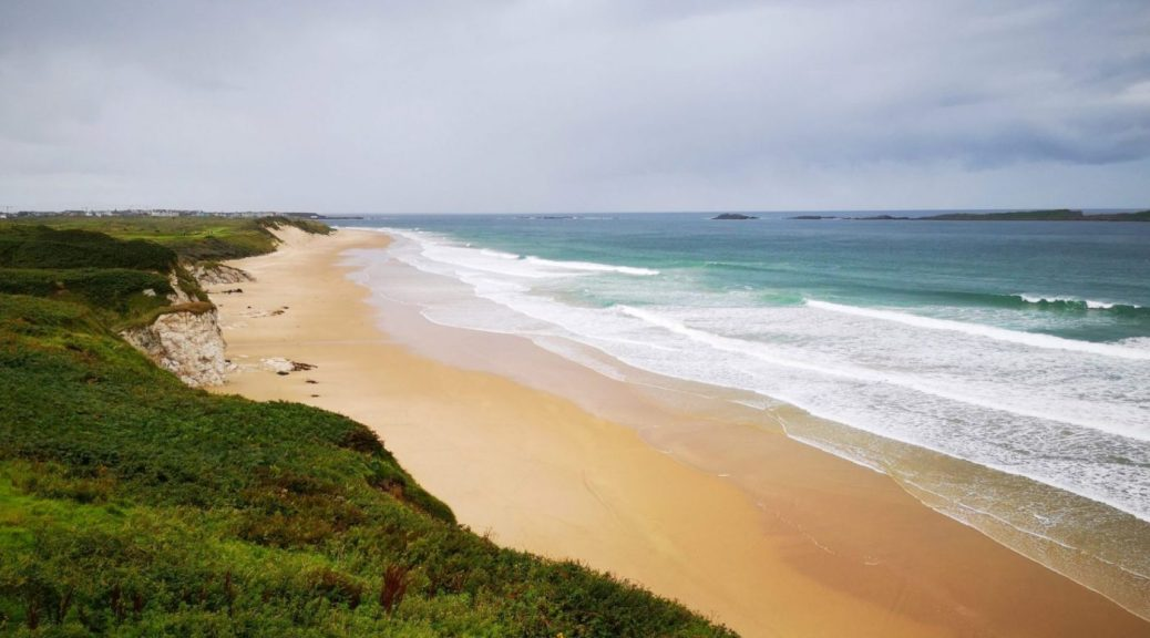 Beautiful East Strand Beach and White Rocks Beach from the Coastal Path - Things to do in Portrush