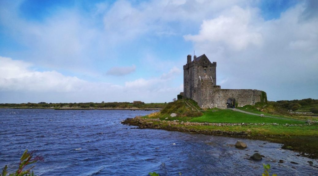 Dunguaire Castle on the shores of Galway Bay - Touring Southern Ireland