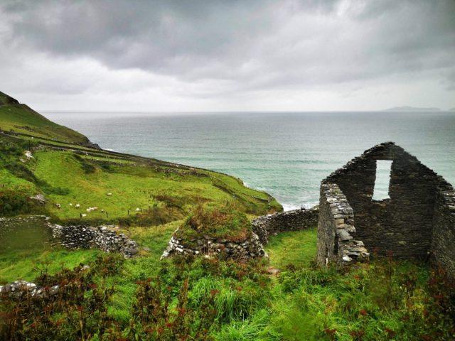 A Cloudy Sky on the Slea Head Drive on our Shamrocker Tour of Ireland