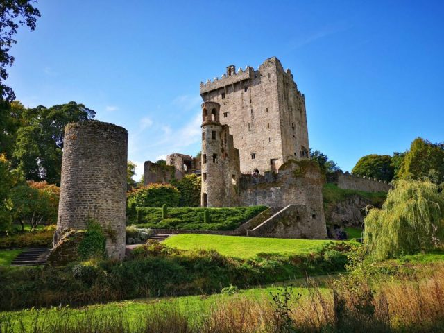 Blarney Castle and Gardens - on the last day of our Shamrocker Tour of Ireland