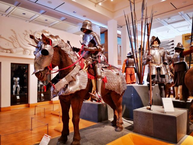 Armour at the Royal Armouries Museum Leeds - Free Museums in Leeds