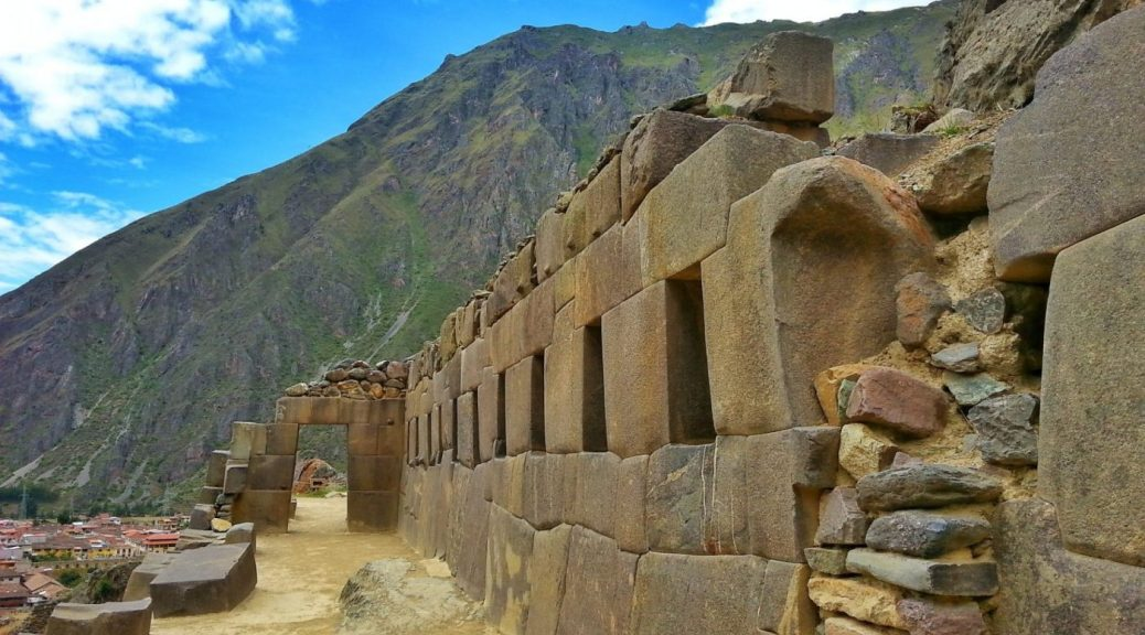 Temple Hill at Ollantaytambo Day Trips from Cusco Peru