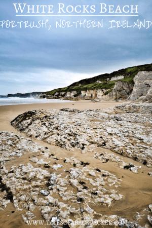 White Rocks Beach Portrush - Things to do in Portrush Northern Ireland #Portrush #NorthernIreland #UK #Beaches #WhiteRocksBeach #DunluceCastle #Travel