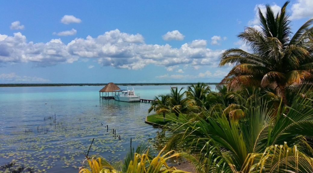 Volunteering Abroad in Mexico - The View from a Hostel in Bacalar