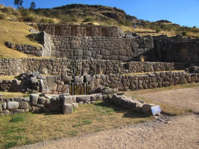 Tambomachay near Cusco Peru - The Boleto Turistico Cusco Tourist Ticket