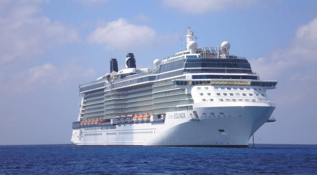 Cruise Ship on the Ocean - How to Cruise on a Budget