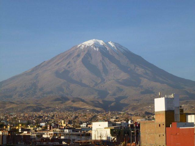 Misti Volcano in Arequipa Peru Hikes in Peru