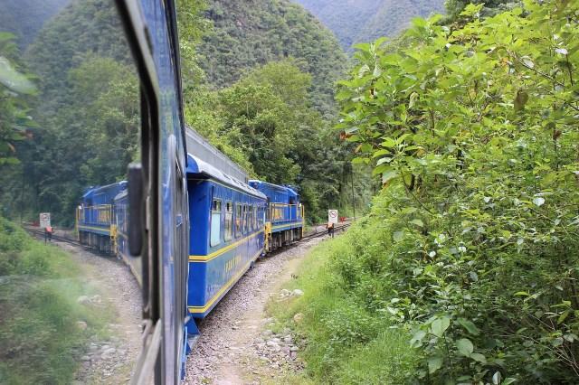 The Train from Cusco to Machu Picchu in Peru - Trains in South America