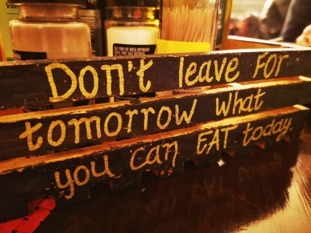 Words to Live By on our Lagos Food Tour