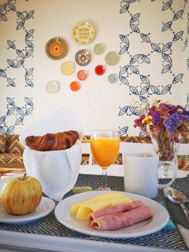 Breakfast at the Heaven Inn - Better than most hotels in Evora!