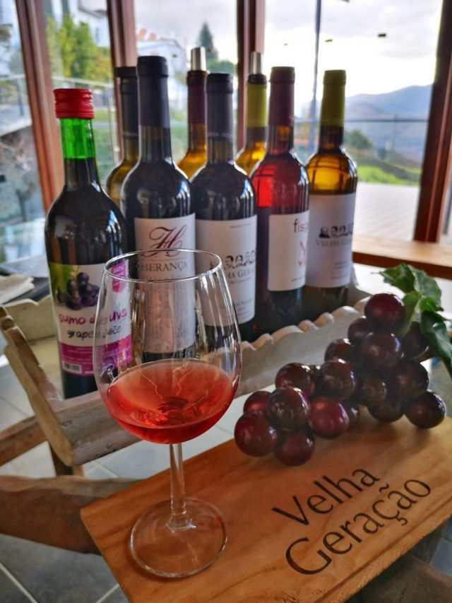 Tasting a Selection of Douro Valley Wines