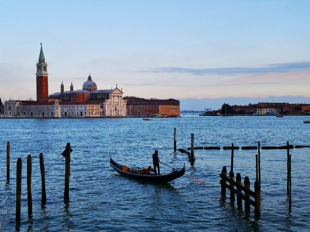 Gondola and San Giorgio Island - Why You Need More than A Day in Venice