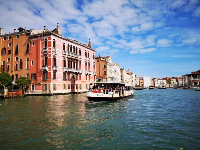 Take a Vaporetto Along the Grand Canal - A Day in Venice