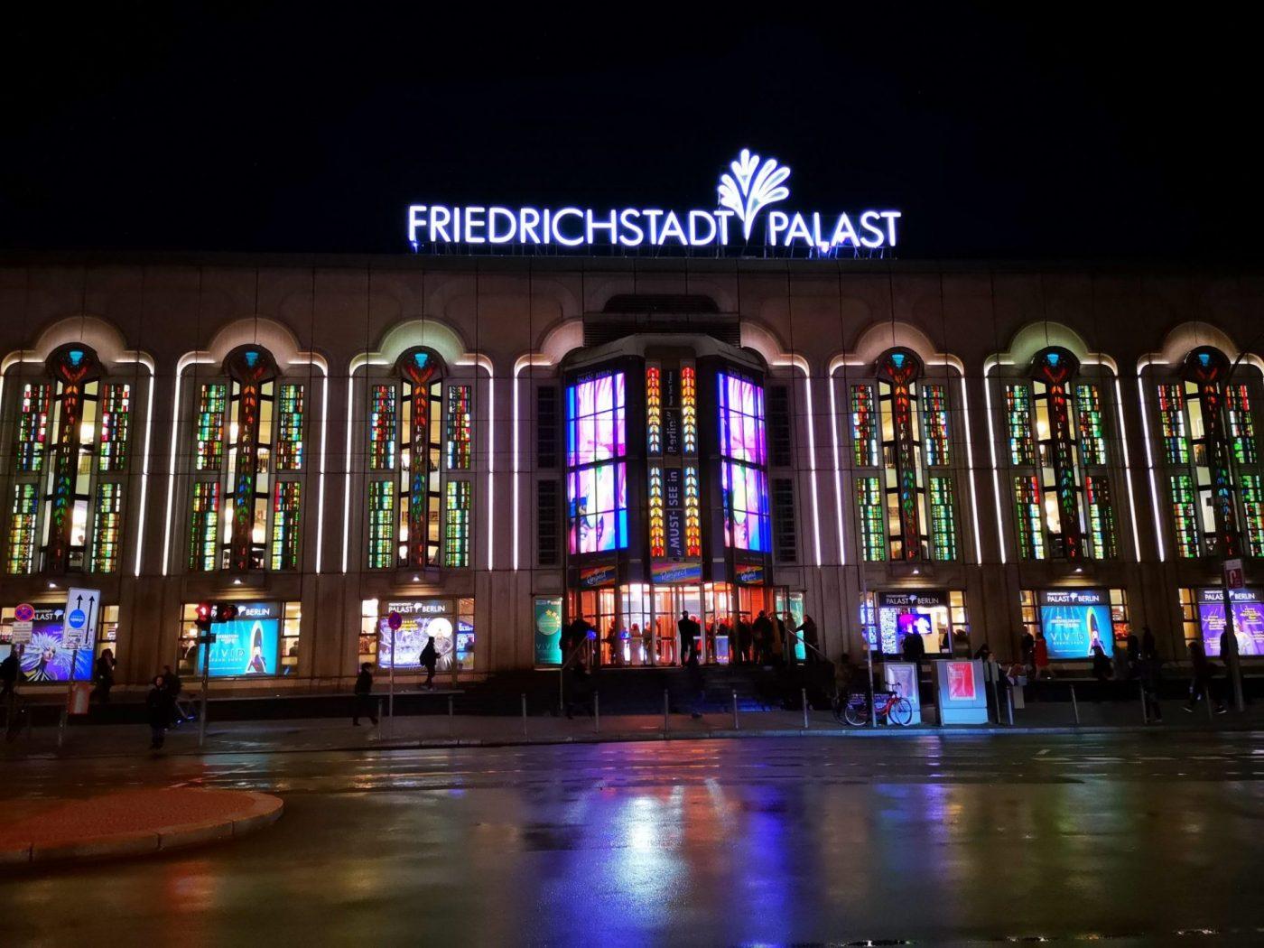 Watching the VIVID Grand Show at the Palast Berlin