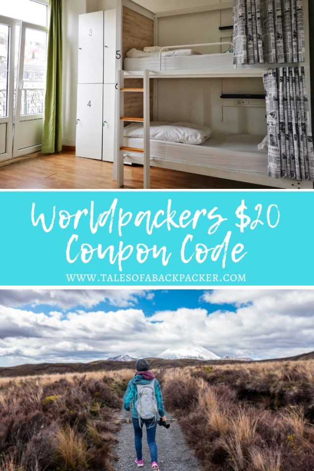 If you're looking for a Worldpackers discount you've come to the right place! Tales of a Backpacker has teamed up with Worldpackers to offer a $20 discount on a year's membership, reducing the membership fee from $49 USD to just $29 USD. If you already know how work exchange sites work, simply use the Worldpackers promo code in this article to claim your discount or read on for more information about volunteering abroad in exchange for accommodation #worldpackers #discount #couponcode #volunteering #workexchange