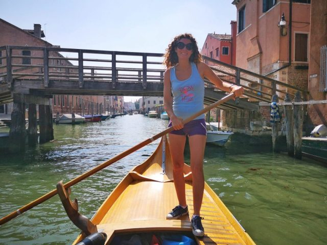 Learning to Row a Gondola in Venice with Row Venice