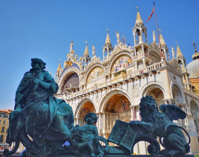 St Mark's Basilica in St Mark's Square - Free Things to do in Venice