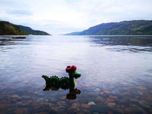 toy Loch Ness Monster in Loch Ness