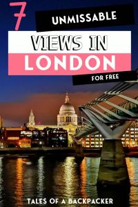 7 Unmissable Views in London