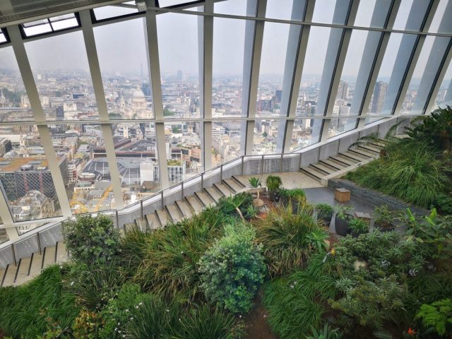 One of the Best Free Views in London at Sky Garden