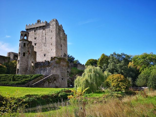 Beautiful Blarney Castle and Gardens in Ireland