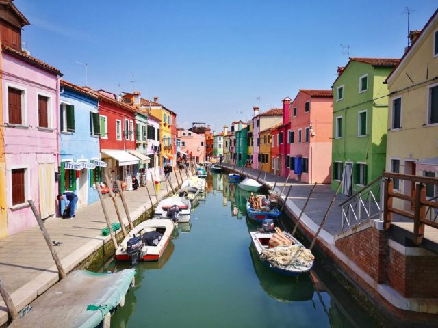 Every View from a Bridge is Beautiful in Burano