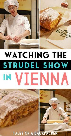 Watching the Strudel Show in Vienna