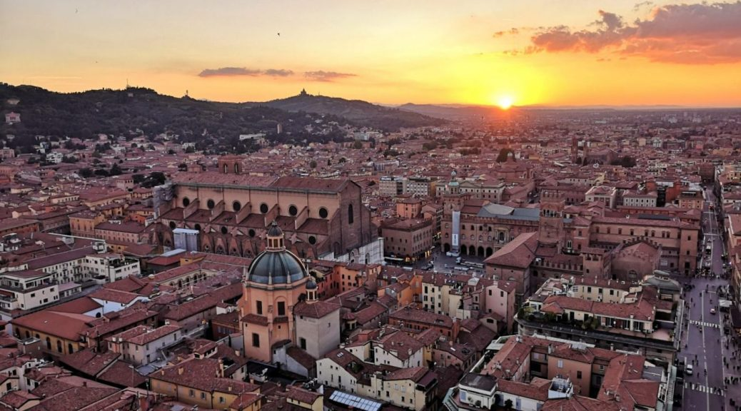 Bologna Italy at Sunset - Exploring Bologna in One Day
