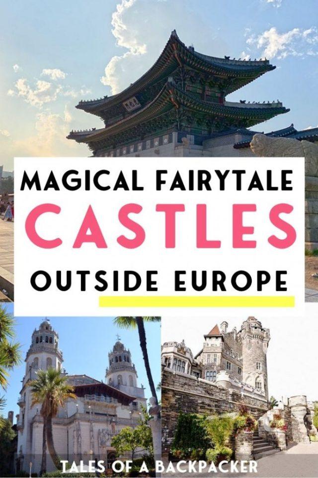 Fairytale Castles Outside Europe
