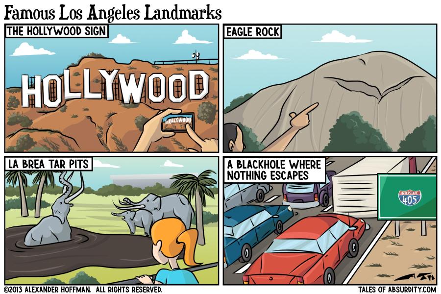 Famous Los Angeles Landmarks