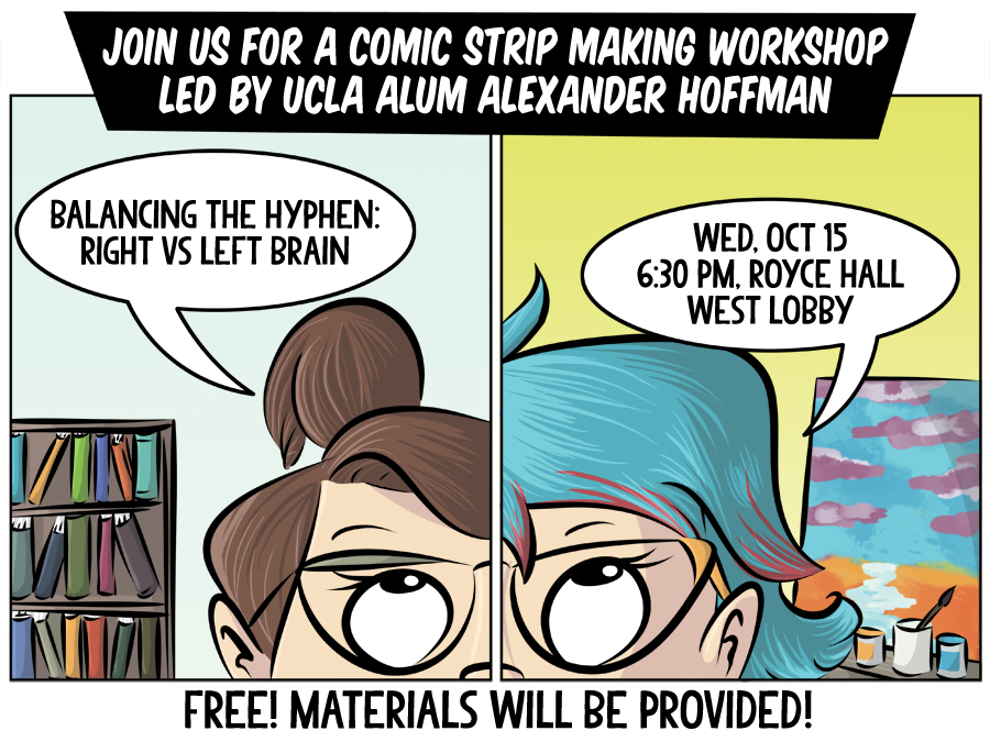 UCLA Comic Workshop on October 15