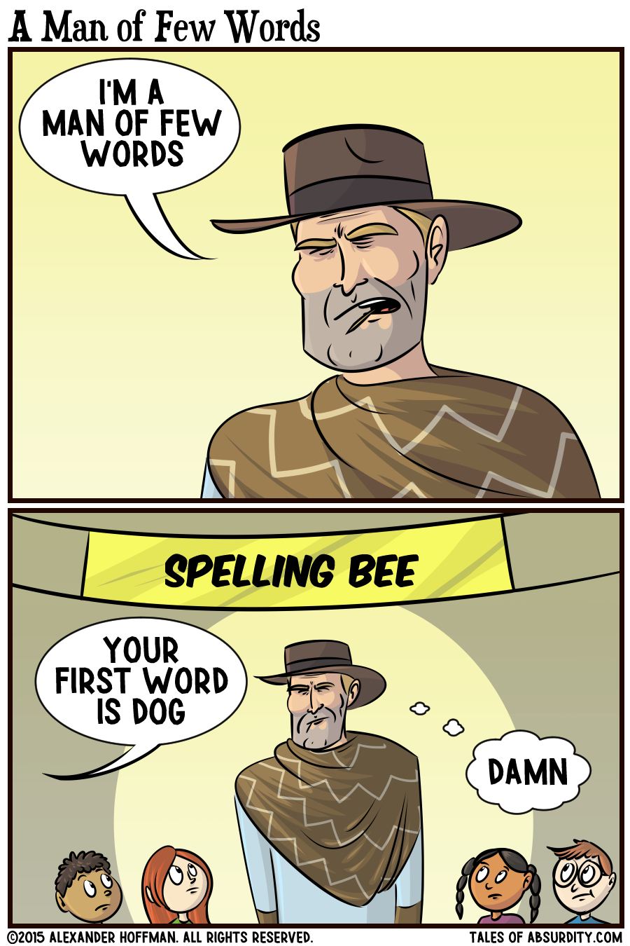 "He thought it was a class on how to spell the word ""bee."""