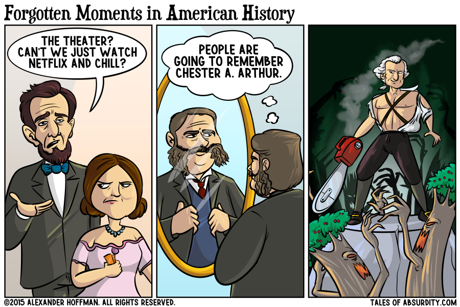 Please don't use this comic to study for your history class.