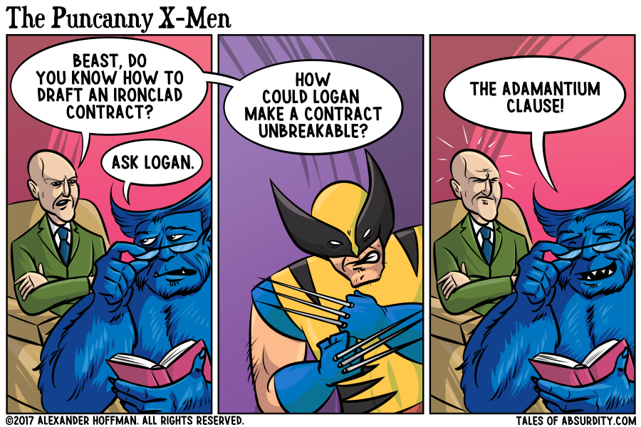 Beast was kicked out of the X-Men shortly after.