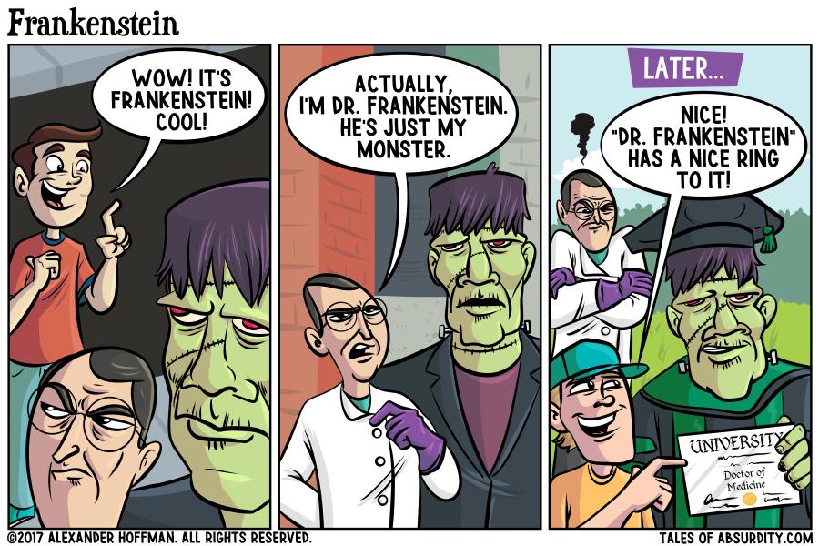 Doctor Doctor Frankenstein's Monster
