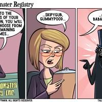 Movie Monster Registry